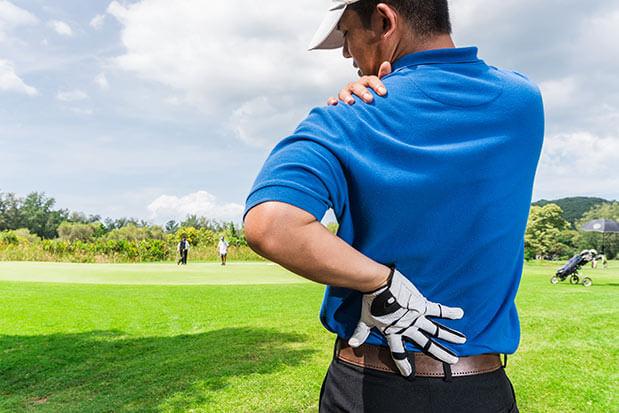 L'épaule du golfeur: comment éviter les blessures?