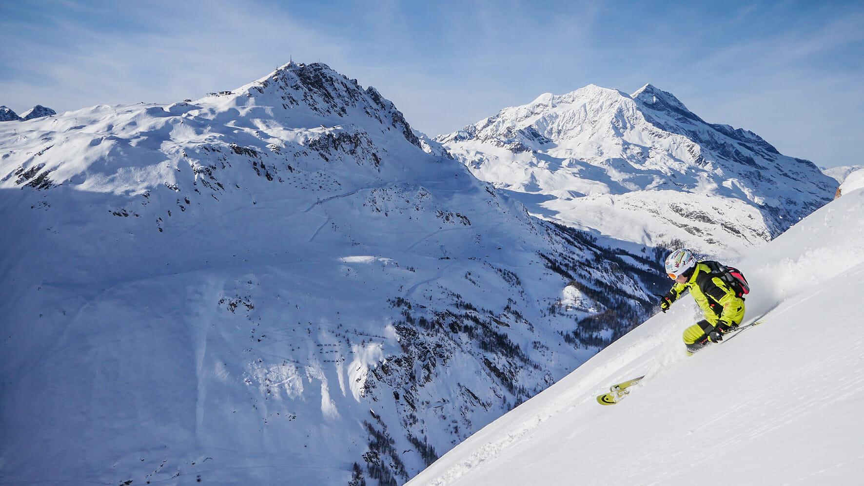 Exosquelette dans la pratique du ski