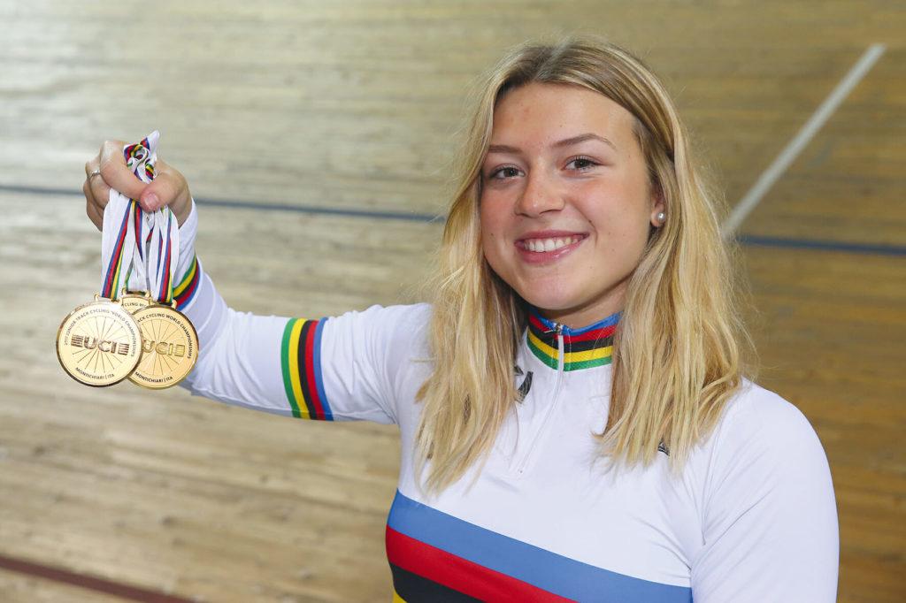 Mathilde Gros: étoile montante du cyclisme sur piste