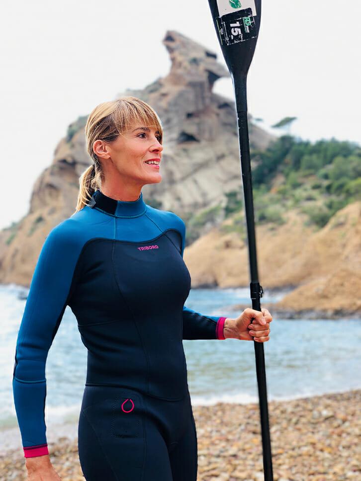 Nathalie Simon: une sportive accomplie