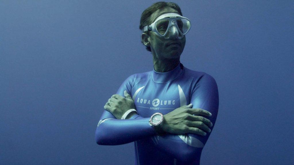 Pierre Frolla: apnéiste, il se prépare comme un triathlète