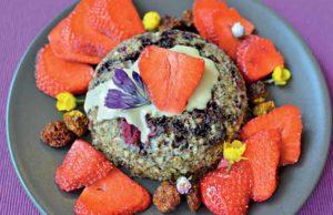 La recette du bowlcake chocolat au beurre de cacahuètes