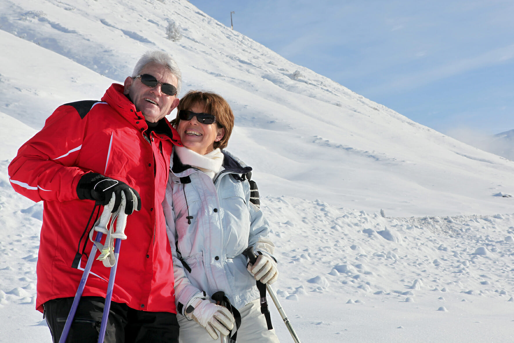 Spécificités du ski santé chez les séniors