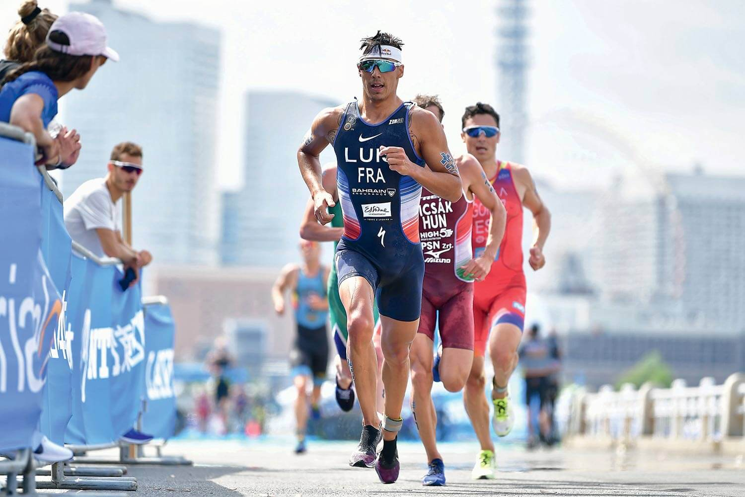 Vincent Luis, champion du monde de triathlon 2019