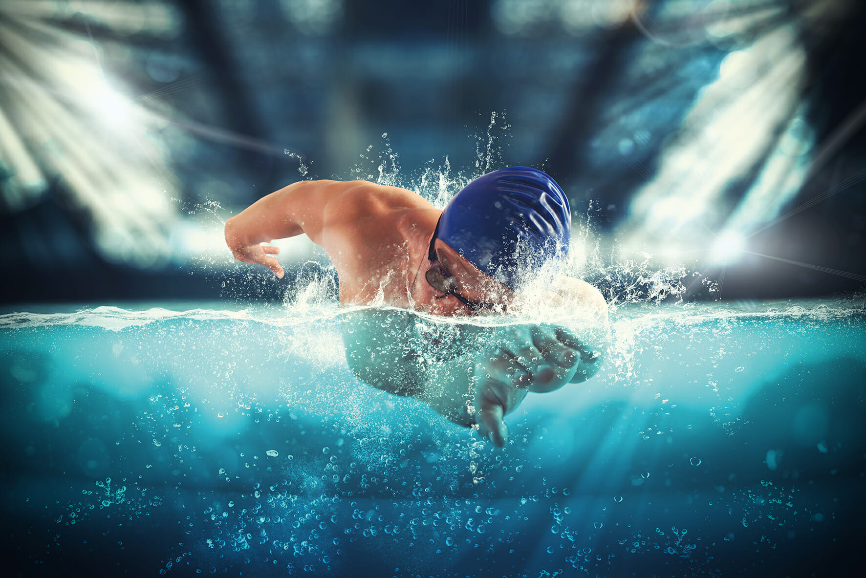 Douleurs d'épaule du nageur: explication, prévention et préparation
