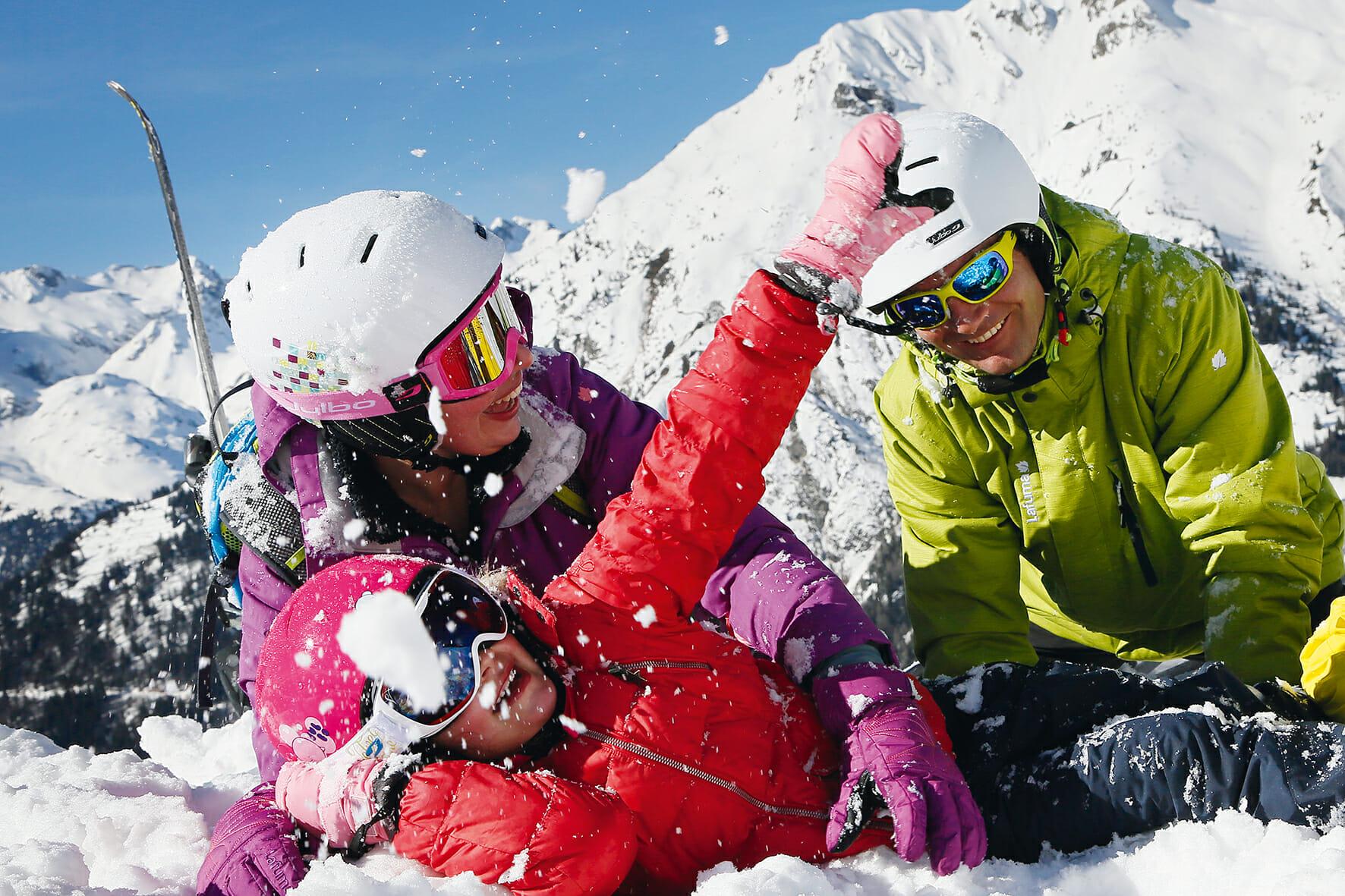 Préparation physique au ski et séjours sports d'hiver