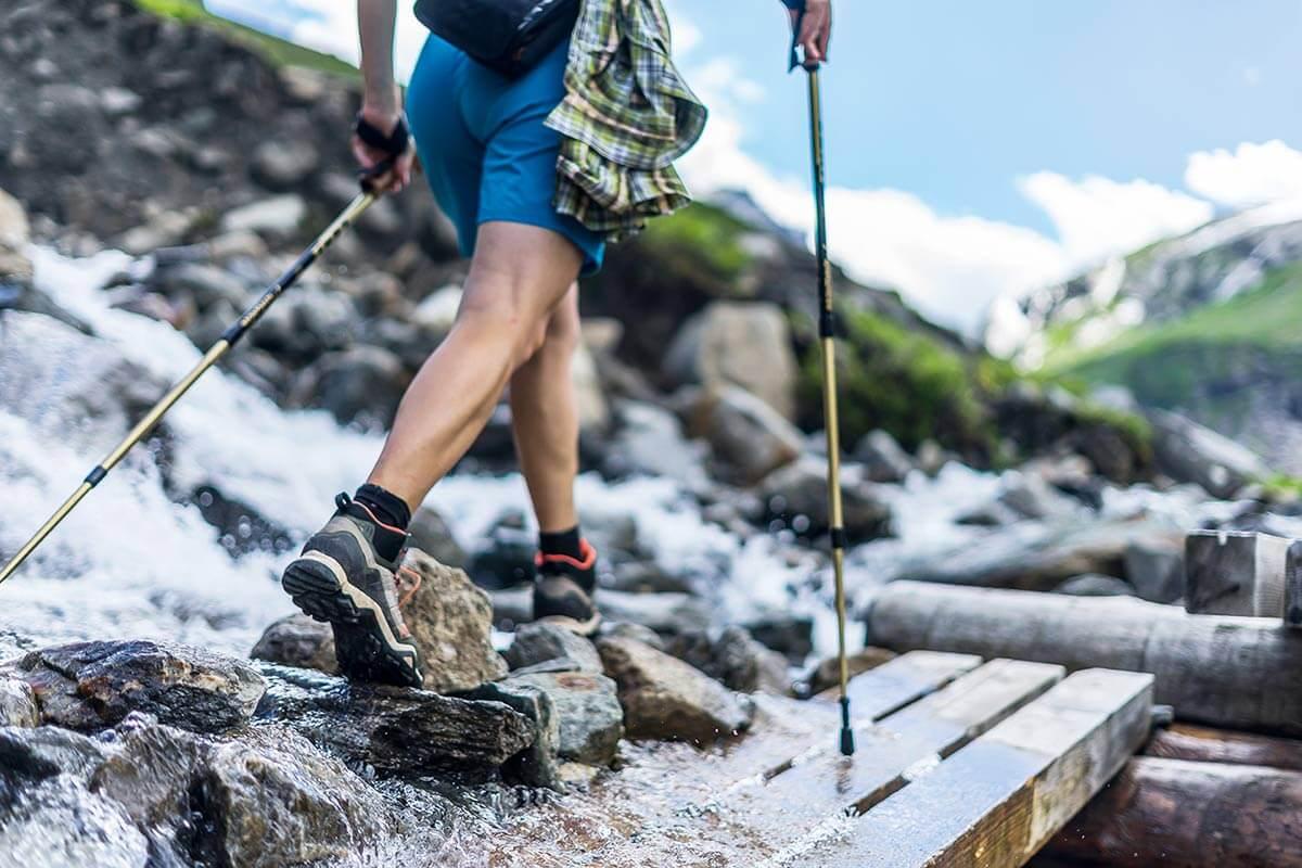 Randonnée: préparation par la tête pour les jambes