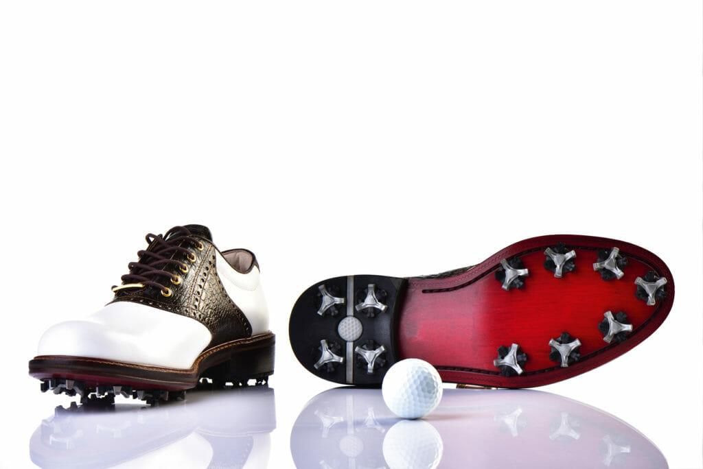 La chaussure de golf