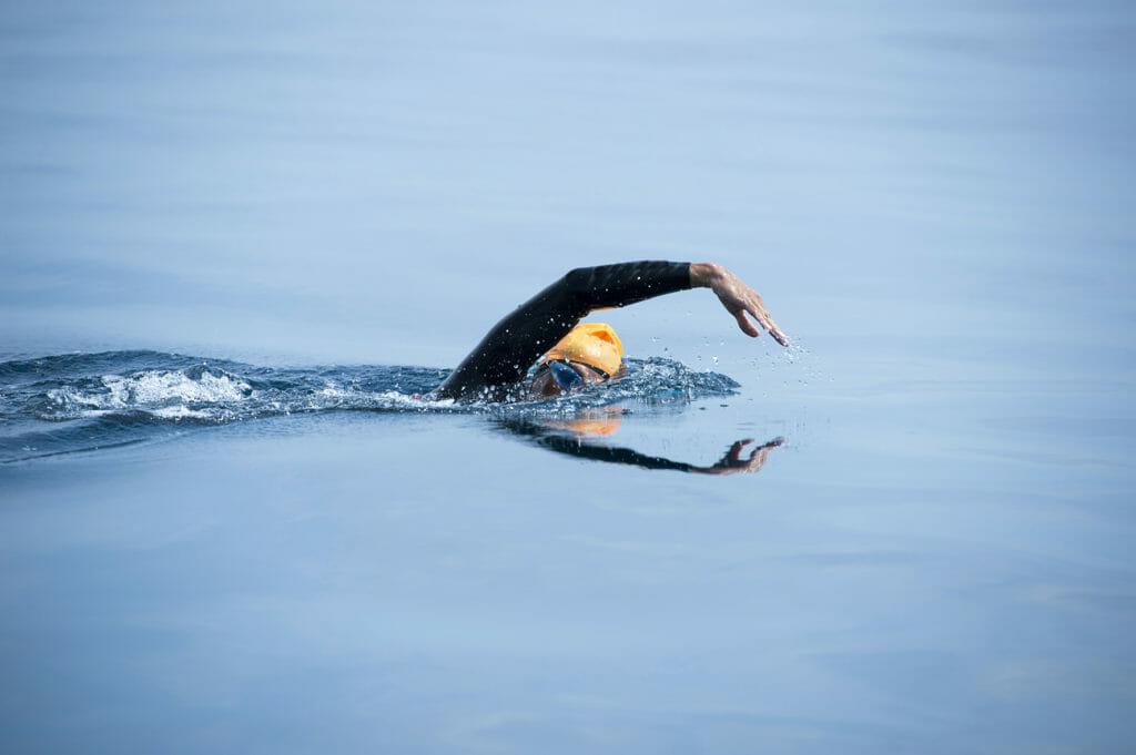 Les principales blessures en natation