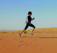 Laurence KLEIN le trail, un bon équilibre entre le corps et la nature