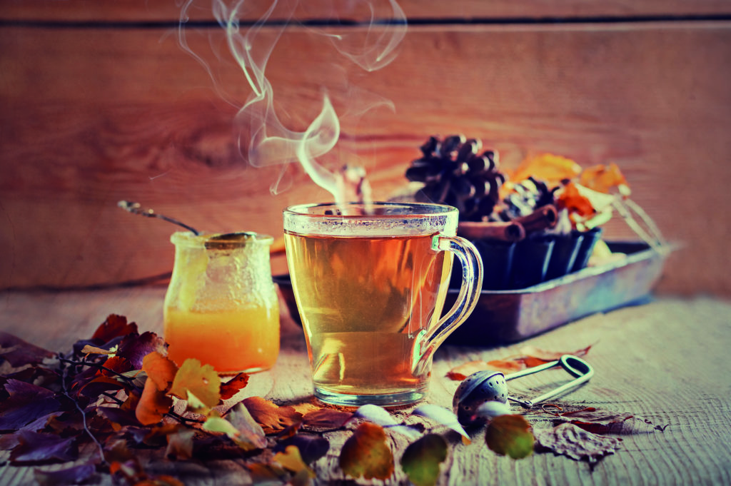 Recette de boisson isotonique à base de thé vert et de miel
