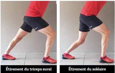 Étirement du triceps sural (mollet)