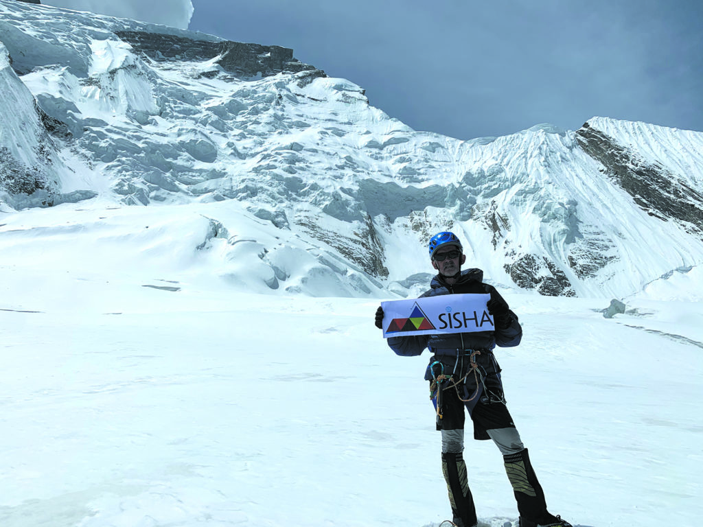 Marc Batard, sprinteur de l'Everest