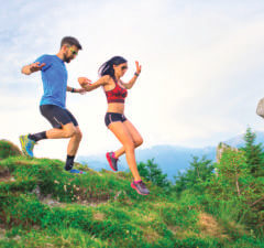 Fatigue en trail: interactions entre le sexe et la distance de course